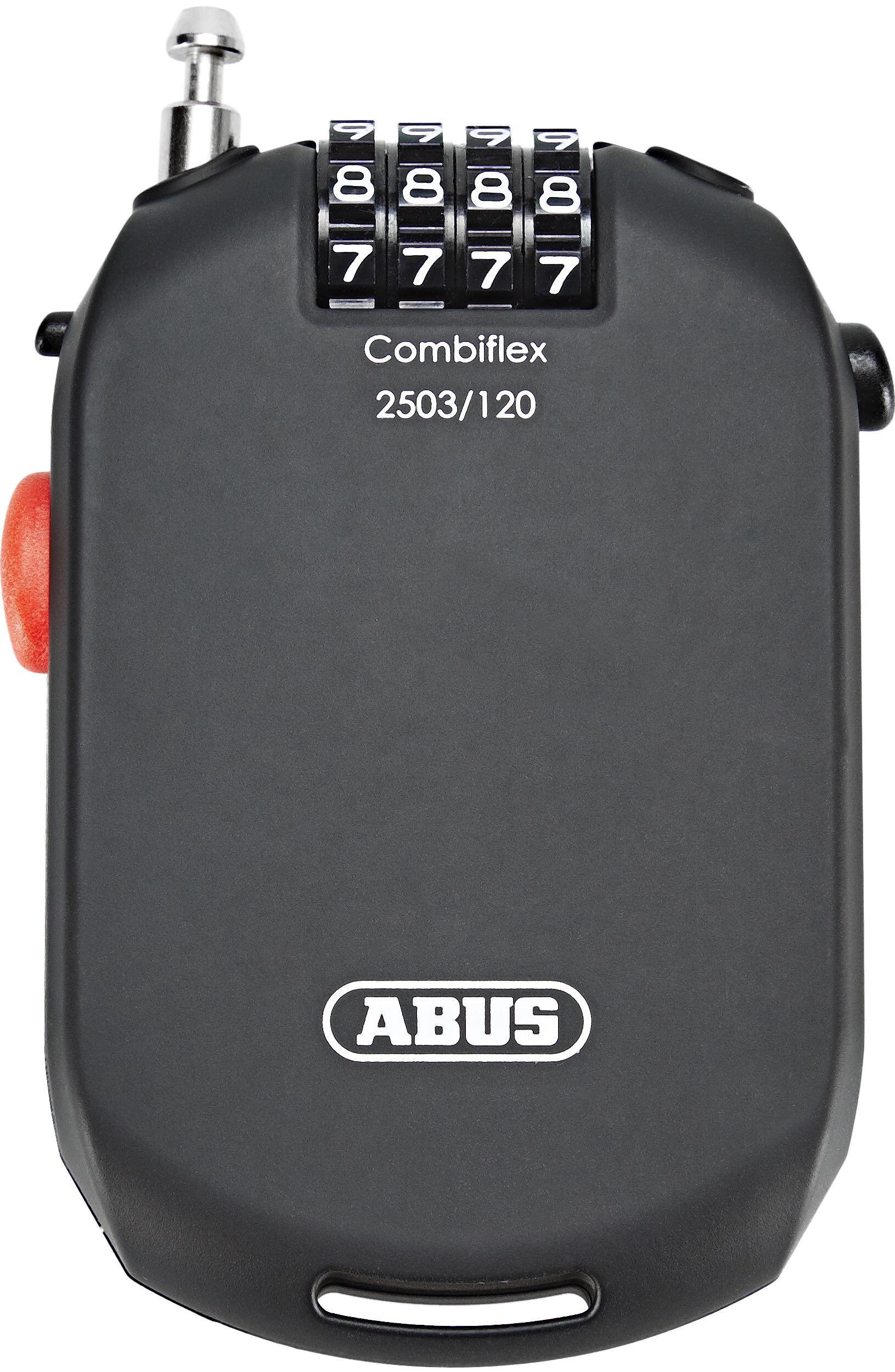 abus combiflex 2503 roll kabelschloss stark zahlen online. Black Bedroom Furniture Sets. Home Design Ideas